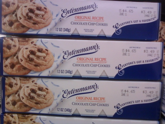 Entenmanns Chocolate Chip Cookies